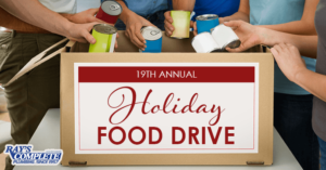 19th Annual Holiday Food Drive - 2020 Banner