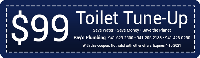 Coupon - 99 dollars off toilet tune up