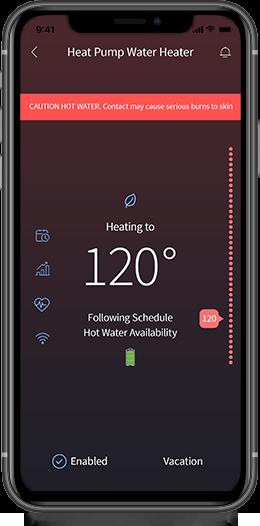 EcoNet Mobile App on Smartphone