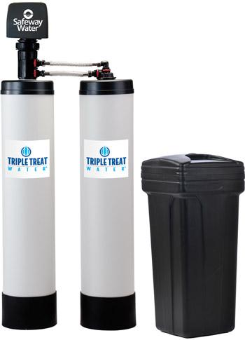 Two Tank Triple Treat Water Treatment