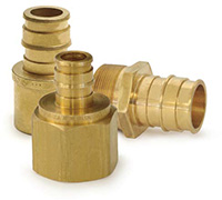 Lead-free brass fittings