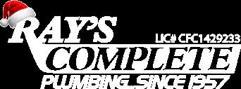 Ray's Complete Plumbing Logo