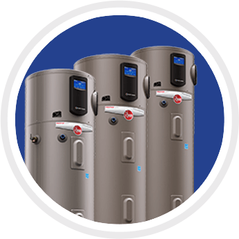 Three Sizes of Water Heaters