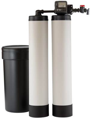 Twin Tank Water Softener with Brine tank